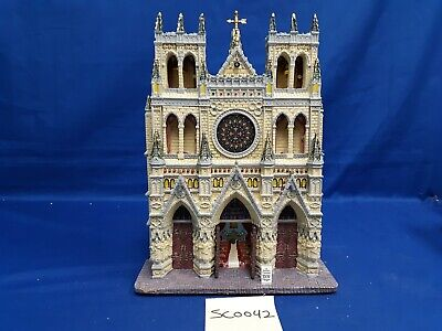 $ CDN10.93 • Buy Lemax Village Collection St. Patrick's Cathedral Facade #95916 As Is SC0042