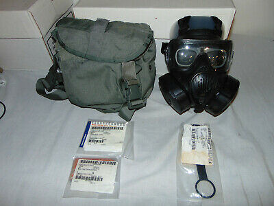 $395.95 • Buy Avon M50 Gas Mask Cbrn Nbc Complete With Accessories Small 2