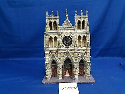 $ CDN21.85 • Buy Lemax Village Collection St. Patrick's Cathedral Facade #95916 As Is SC0044