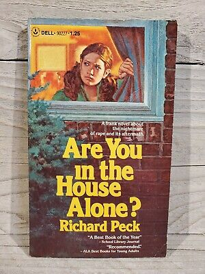 £8.59 • Buy Richard Peck - Are You In The House Alone? (Dell Laurel Leaf, 1977, 1st Print)