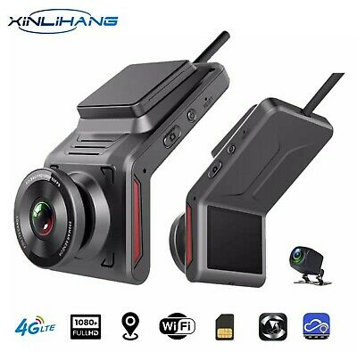 AU80 • Buy 4G 1080P Car Dash Cam With Rearview Camera With GPS