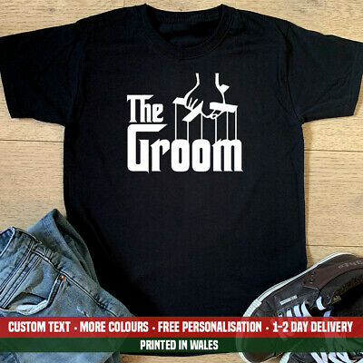 £11.99 • Buy The Groom T Shirt Funny Stag Party Do Wedding Godfather Parody Birthday Gift Top