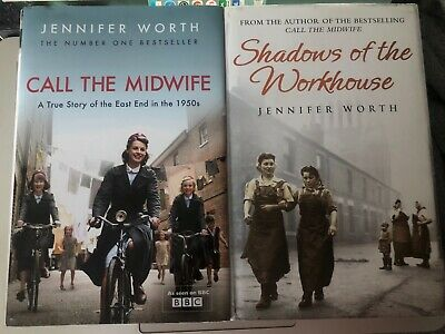 Hardback Shadows Of The Workhouse And Call The Midwife Books By Jennifer Worth • 4£