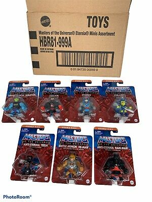 $56.50 • Buy Complete Set Of 7 Master Of The Universe 2  Eternia Minis 2020-2021 MOTU Mattel