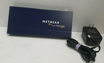 AU19.29 • Buy Netgear ProSafe 8 Port 10/100/1000 Mbps Gigabit Switch GS108