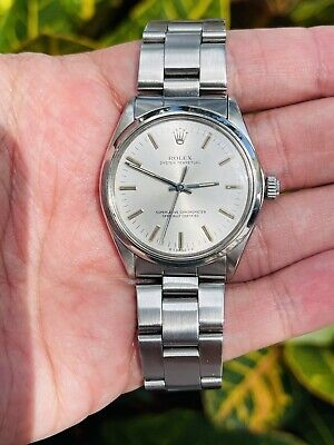 AU3863.73 • Buy Rolex Oyster Perpetual Vintage Ref 1002 Mens 34mm Automatic Cal. 1570 Mens Watch
