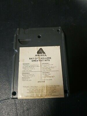AU11.62 • Buy 8 Track Cartridge Bay City Rollers Greatest Hits Used Tested