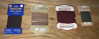 £4.99 • Buy 4 X Vintage Chadwick's Stancraft Patons Wool/nylon Reinforcing &  Mending Thread