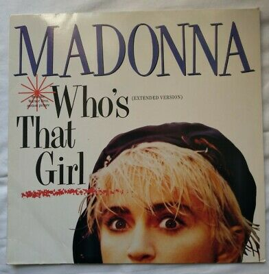 £6.99 • Buy Madonna ‎– Who's That Girl(Extended Version). German Vinyl, 12 . Sire ‎920 692-0