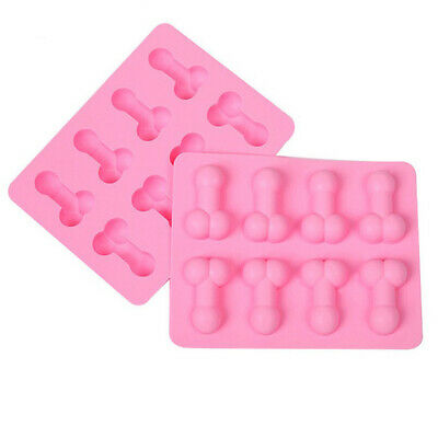 £2.99 • Buy Penis Dick Silicone Ice Cube Tray Baking Jelly Chocolate Mould Night Hen Party