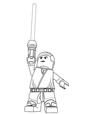 £2 • Buy Lego Star Wars Unofficial 'Colour Your Own' Stickers - Pack Of 20