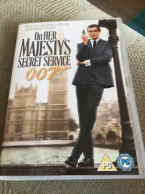 £2.20 • Buy On Her Majesty's Secret Service Dvd Freepost In Good Condition *