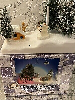 £75 • Buy Vintage Rare The Snowman Animated Flying Fibre Optic Raymond Briggs Boxed NOS