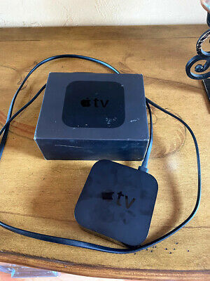 AU68.22 • Buy Apple TV (4th Generation) 32GB HD Media Streamer - A1625 No Remote