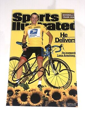 £25.42 • Buy LANCE ARMSTRONG Authentic Hand Signed Autograph 4X6 Photo -RACING CYCLIST LEGEND