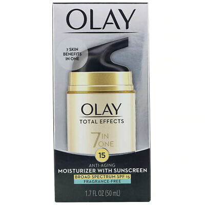 AU9 • Buy Olay TOTAL EFFECTS 7 In 1 FRAG FREE Moisturizer SPF 15 1.7oz Exp 06/21 Free Ship
