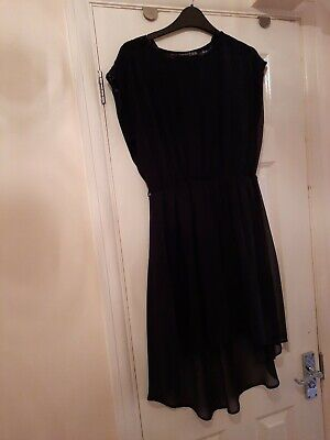 AU9.84 • Buy Ladies Black Dress Size 14 - Pre-owned