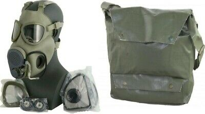 $29.99 • Buy Military Czech Gas Mask M10M Hydration Straw Filters Bag Emergency Survival NBC
