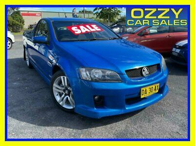 AU10750 • Buy 2010 Holden Commodore VE MY10 SV6 Blue Manual 6sp M Utility