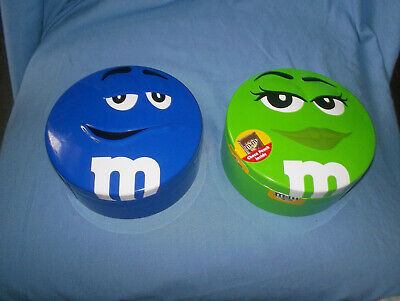 2 M&m's Round Sweet Tins • 4.99£