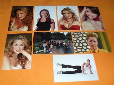 £7.50 • Buy Claire Sweeney 6x4 Photograph Set. Tv Brookside Candy Cabs Holby City Benidorm