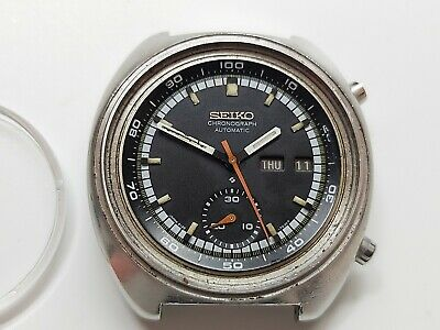 $ CDN405.33 • Buy Seiko Automatic Chronograph 6139B Watch For Repair Or Parts Uhr-Reloj-Montre