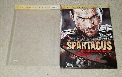 Spartacus - The Complete First Series (Andy Whitfield, John Hanna, Lucy Lawless) • 14.14£