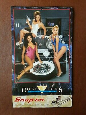 £24.99 • Buy Snap On Tools  1988 Glamour Calendar - Collectors Edition - Rare Collectable.