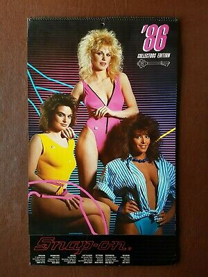 £24.99 • Buy Snap On Tools  1986 Glamour Calendar - Collectors Edition - Rare Collectable.