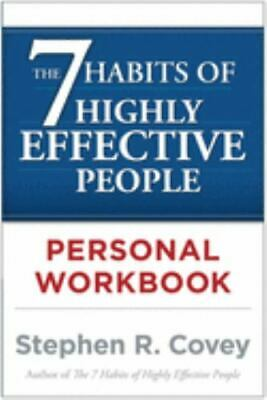 AU5.19 • Buy The 7 Habits Of Highly Effective People Personal Workbook By Stephen R. Covey ,