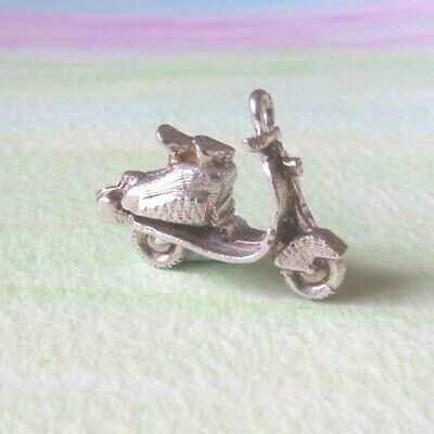 £18 • Buy Vintage Silver Chim Opening Scooter Charm