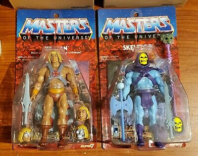 $249.99 • Buy MOTU Filmation Ultimates He-man & Skeletor MOC Super7 Masters Of The Universe