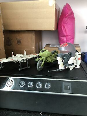 $ CDN50.38 • Buy Gi Joe Vintage Vehicle Lot RAM Motorcycle, Cobra Flight Pod, Cobra Claw Glider