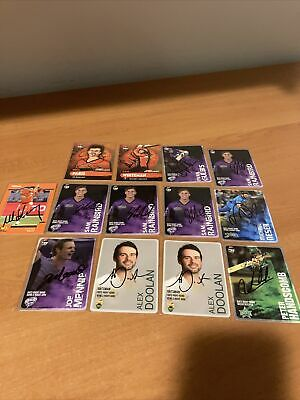 AU15 • Buy Signed  Cricket Cards  Various X13