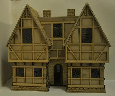 £78 • Buy Wooden Made-to-order Tudor Dolls House / Satetly Home. Assembly Required