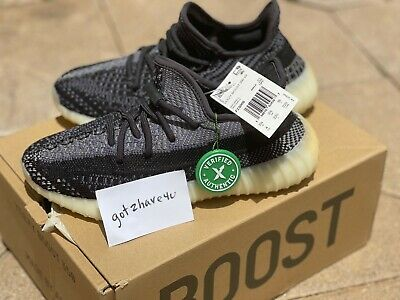 $ CDN242.62 • Buy Adidas Yeezy Boost 350 V2 CARBON ASRIEL YZY 100% Authentic Size 4 New In Box