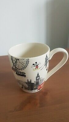 £10 • Buy Cath Kidston X Disney Mug. Mickey Mouse In London. New With Chip.