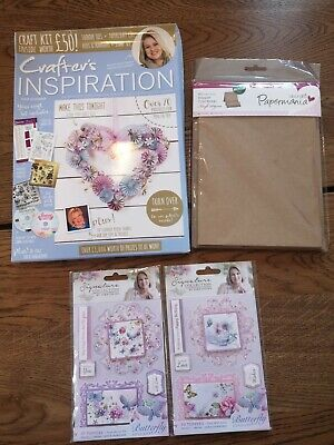 £10 • Buy Crafter's Companion CRAFTERS INSPIRATION Issue 14 Summer Card-making Bundle