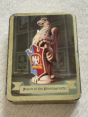Vintage Falcon Of The Plantagenets Sweet Tin • 4£