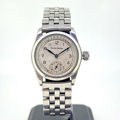 $ CDN2983.72 • Buy Unisex Vintage Rolex Oyster Royal Steel Manual Wind 1940's Silver Dial