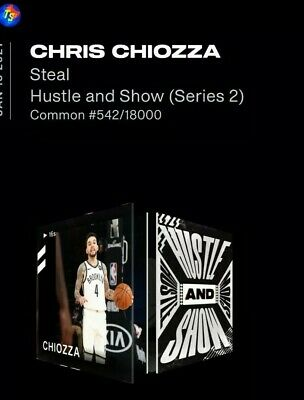 $60 • Buy CHRIS CHIOZZA Hustle And Show NBA Top Shot Series 2 NFT Dunk # 542/18000 LE