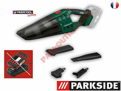 £75.99 • Buy  Parkside  Hand-Held Vacuum Cleaner PHSSA 20-LIi A1 + BATTERY AND CHARGER