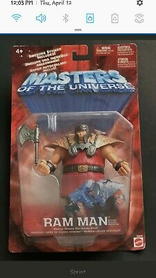 $25 • Buy Masters Of The Universe Ram Man 2001