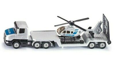£11.48 • Buy Siku 1610 Die-Cast Vehicle - Low Loader With Helicopter Brand New AU Seller