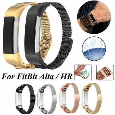 AU12.69 • Buy For Fitbit Alta HR ACE Milanese Watch Band Sport Stainless Steel Strap Bracelet