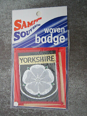 £3.99 • Buy Yorkshire Woven Cloth Patch Badge (L47S)