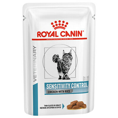 £42.47 • Buy Royal Canin Sensitivity Control VHN Cat Food Wet Chicken Pouches 48 X 85G