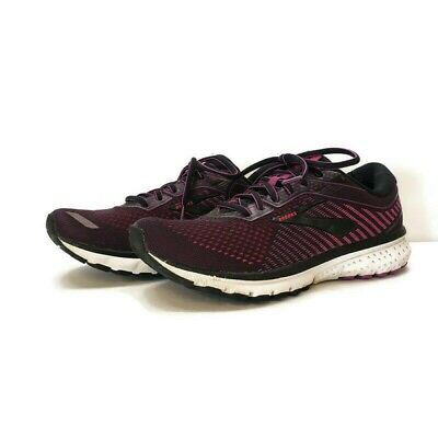 $ CDN54.35 • Buy Brooks Women's Ghost 12 Running Shoes Size 9.5 Black Pink Cushioned Activewear