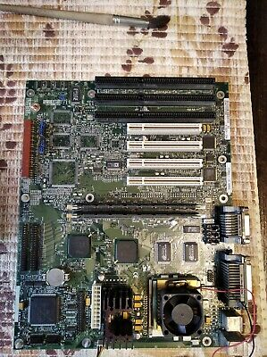 AU77.23 • Buy Rare Intel Socket7 Motherboard+233MMX+WaveTable Sound(Yamaha GM)+memory+cooler