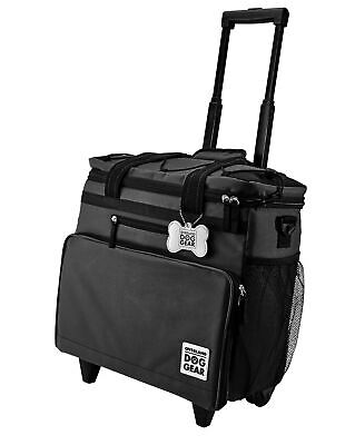 $ CDN108.69 • Buy Mobile Dog Gear Rolling Week Away Dog Travel Bag With Collapsible Dog Bowl Black